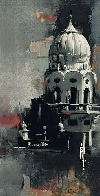 Painting by Mawra Tahreem