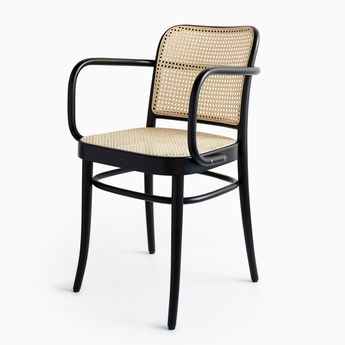 811 Black Armchair