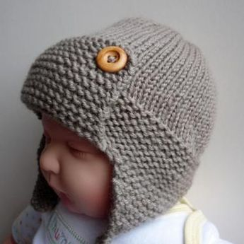 4052e6bba9c Wright Flyer Baby Aviator Hat