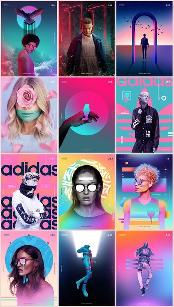 Graphic design trends, the awesome work of Magdiel. Magdiel's passion for excellence and creativity show in his artwork. He is in the process of a year long experimental design project that has gained him notoriety from respected publications across the globe.