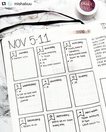 41 Amazing Bullet Journal Weekly Spread Ideas You'll Lose Your Mind Over