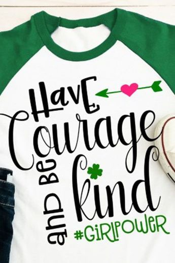 Girl Scouts Shirt Courage, confidence, character  Design #1