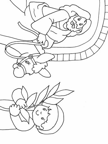 palm sunday preschool | Palm Sunday Coloring Page | Easter | Bible | Preschool Printable ...