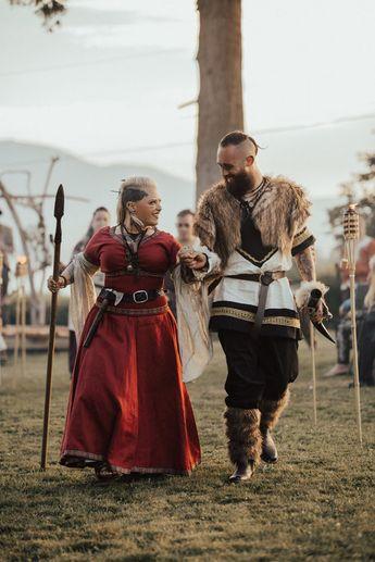 ecec48a5659 A Real Viking Wedding - Danielle + Donovan