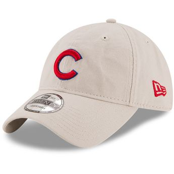957935c18 Men s Chicago Cubs New Era Stone Core Classic 9TWENTY Adjustable Hat