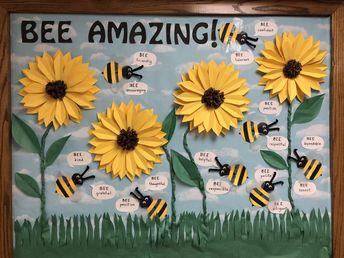 BEE Amazing Sunflower Bulletin Board