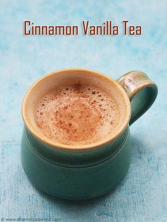 Vanilla cinnamon tea