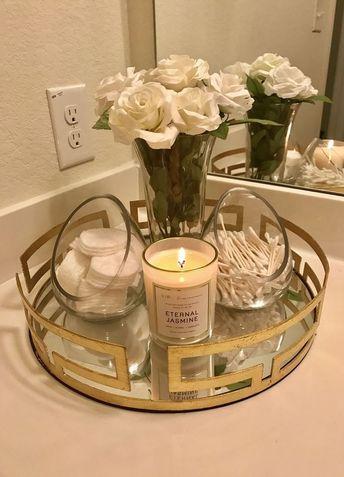 48 Fantastic Bathroom Countertop Ideas Look Elegant