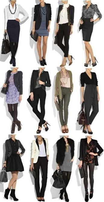 30 Beautiful Woman Business Casual Outfit Ideas