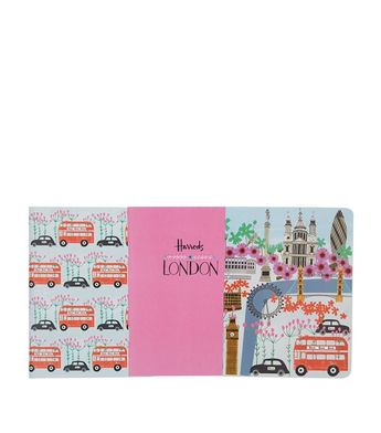 Souvenirs: Harrods Notebooks Harrods London Collage Notebooks (Set of 3)