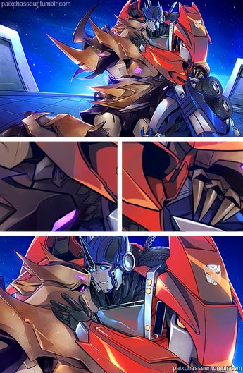 Transformers Pic , Story , Dj,    - Megatron x Optimus