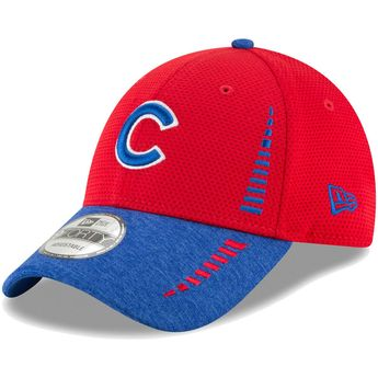 62ef7cbda Chicago Cubs New Era Speed Tech 9FORTY Adjustable Hat – Red Heathered Royal