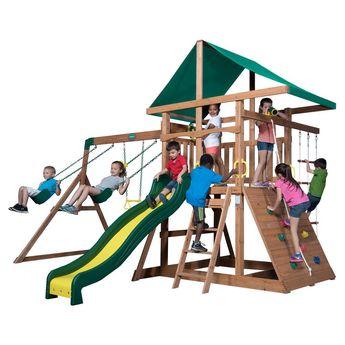 Backyard Discovery Mount McKinley Cedar Swing Set