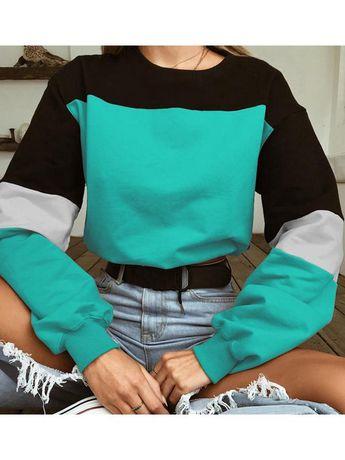 LaceShe Women's Long Sleeve Sexy Sweatshirt