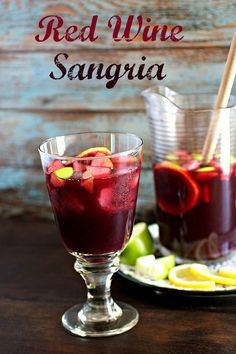 Fruity and Sweet Red Wine Sangria