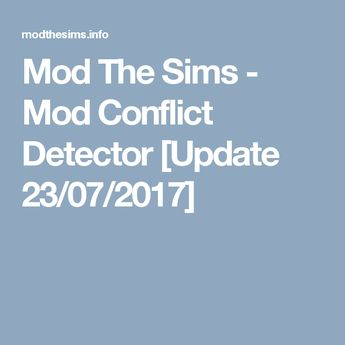 Mod The Sims - [UPDATED 11/08/17] Simulation Lag Fix update