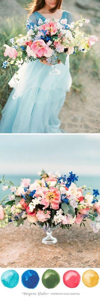 Tiffany Blue-inspired Wedding Color Ideas