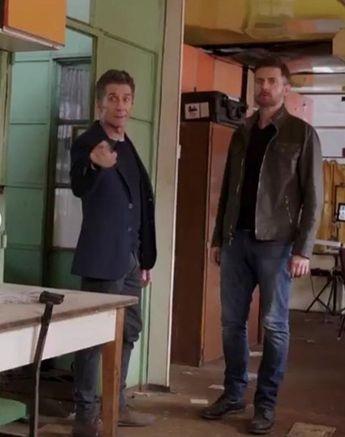 Richard Armitage as Daniel Miller in Berlin Station (2016-2018) Season 3