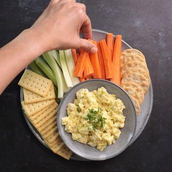 Healthy Egg Salad - #Egg #Healthy #Salad