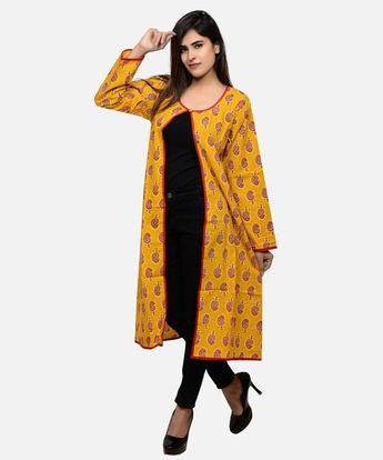 fc535943bf Paisley Block printed long jacket -Boho Gypsy kimono long jacket-Bohemian  kimono long coat