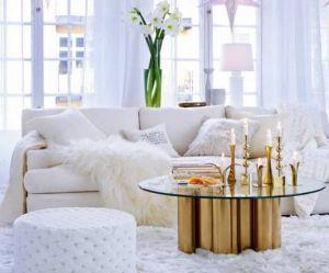 Glamorous home: Candlesticks