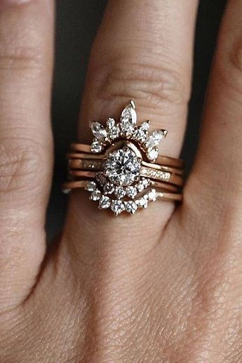 35 Classic Elegance Engagement Rings from Ken & Dana Design