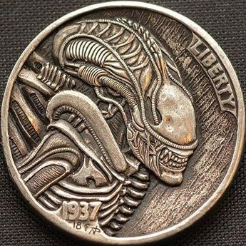 Details about Original hand engraved buffalo hobo nickel
