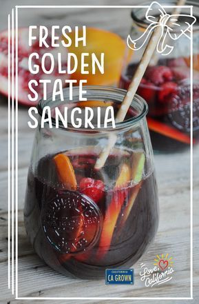 Fresh, colorful fruit and dark, peppery California zin make this fruity, sparkling cocktail a favorite any time of year.