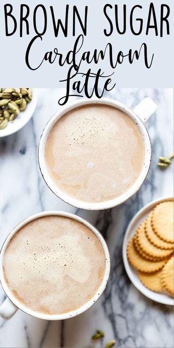 Brown Sugar Cardamom Latte