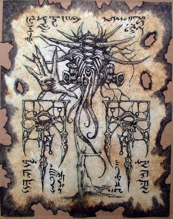 CULT of YOG SOTHOTH Cthulhu larp Necronomicon lovecraft mo