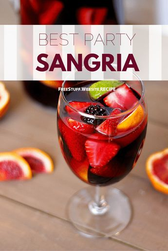 With three forms of zesty citrus, topped with more red berries and diced pineapple, the fruit components marry well and marinate to form a brilliant backdrop to the fruit-forward wines suggested in th (Sangria Fall Recipes)