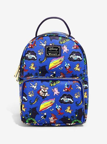 d3106d6af75 Loungefly Disney Fantasia Character Mini Backpack - BoxLunch Exclusive