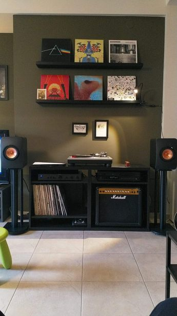 Kef Ls50 turntable setup