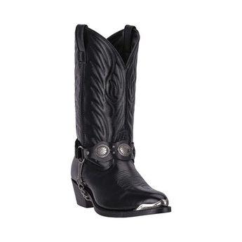 347bbb1ea8c New Rock Black Leather Cowboy Boots M.WST022-S1