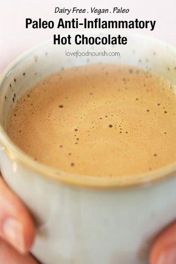 """Paleo """"Anti-Inflammatory"""" Hot Chocolate"""