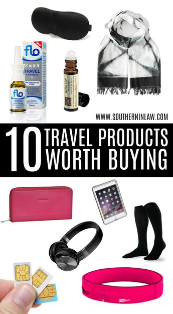 10 Travel Products That Are Worth Buying