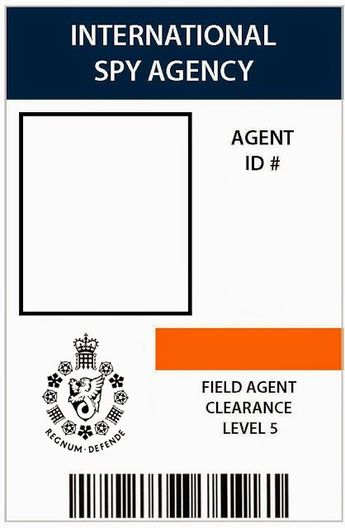 photograph regarding Secret Agent Badge Printable referred to as Down load and print out as several of the spy take note worksheets