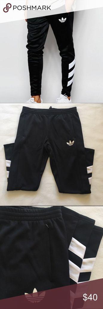 9b7845e898540 Men s Adidas Logo Trackpants Super cool Adidas originals men s track pants  with on trend slim leg