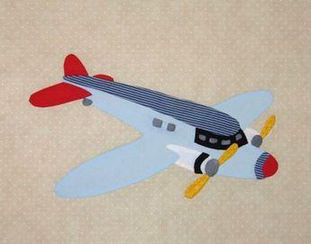 Free Airplane Quilt Block | Free Paper Pieced Quilt Blocks Airplanes - Quilter's Corner Club