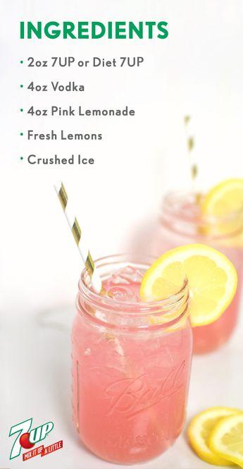 Easy Adult Pink Lemonade