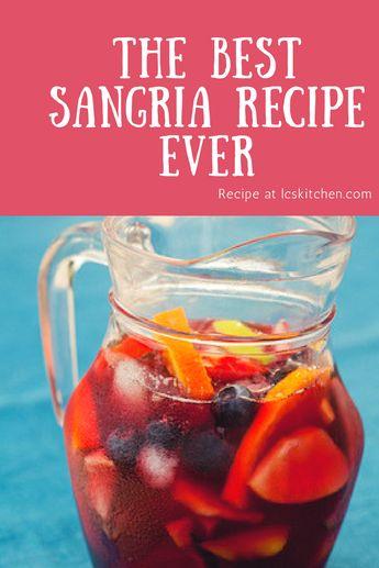 Sangria: the best recipe ever - Recipe of the Sangria