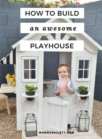 From Drab to Fab: A Playhouse Renovation You've Got To See