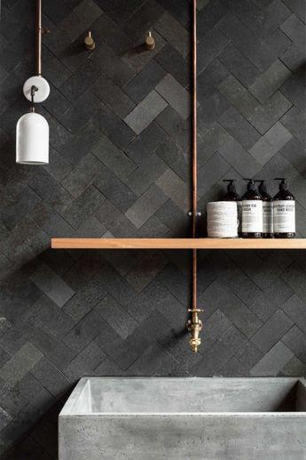 120+ Modern Small Bathroom Tile Ideas