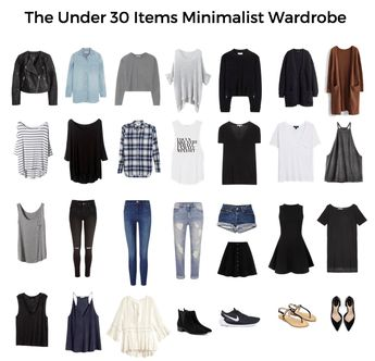 How To Create A Minimalist Wardrobe (& Free Essentials Checklist)