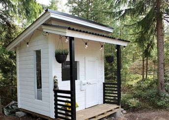 Playhouse Plan Into Your Existing Backyard Space