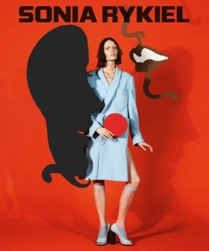 Sonia Rykiel Fall 2013 Ads- French Midcentury Ads