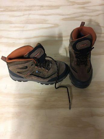 big sale 1eb93 594ba Hi-Tec Youth Boys Hiking Boots Size 4.5 US 36 EUR Waterproof Brown  fashion