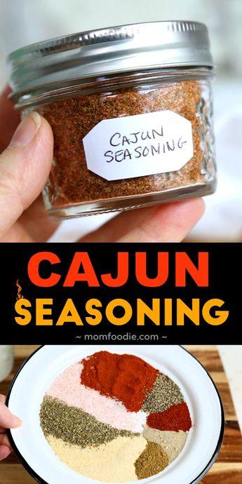 Cajun Seasoning Recipe - How to Make Cajun Seasoning Spice Blend
