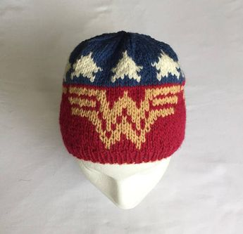 225ac17903f3b0 Batman Knitted Hat by magic pixie knitter pattern is on R