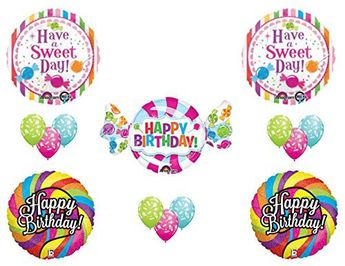 CANDY CRUSH 16th Sweet Shop Happy Birthday PARTY Balloons Decorations Supplies Candyland